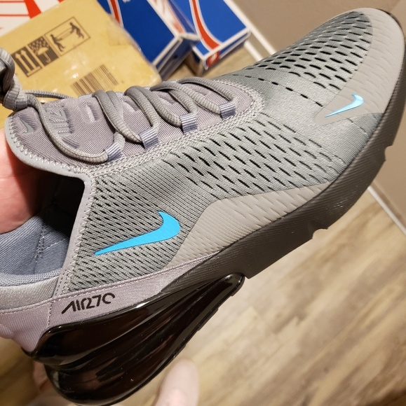Nike Air max 270 Cool Grey Blue Fury